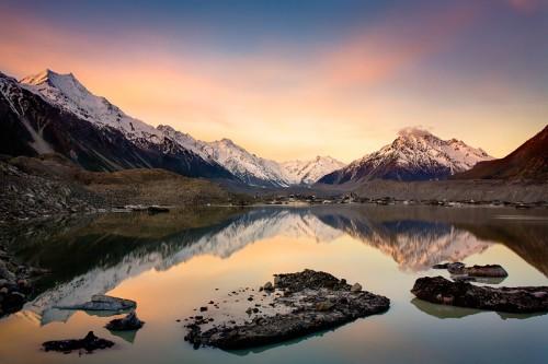Tasman Lake, Mount Cook